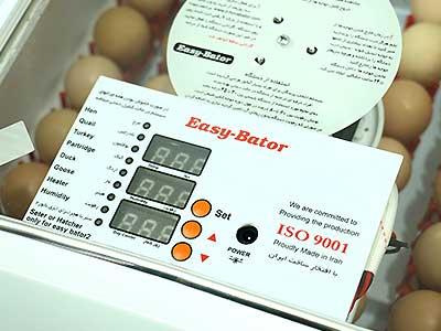 نمایشگر دستگاه جوجه کشی 48 تایی
