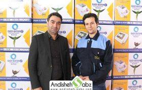 صادرات دستگاه جوجه کشی به تاجیکستان