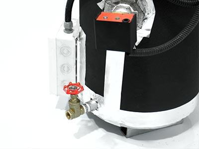 شیر دستگاه بخار ساز گرم صنعتی