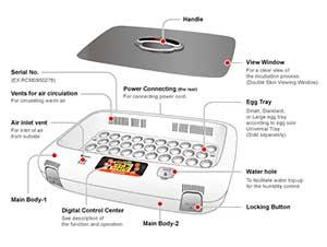 طراحی دستگاه جوجه کشی 50 تایی آرکام
