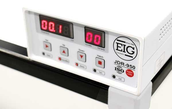 کنترل کیفی دستگاه جوجه کشی 672 تایی