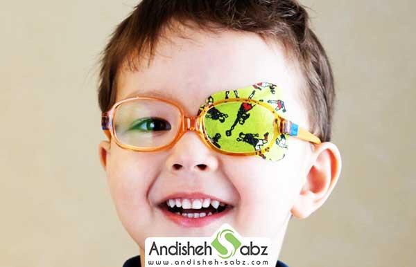 ضعف بینایی در کودکان