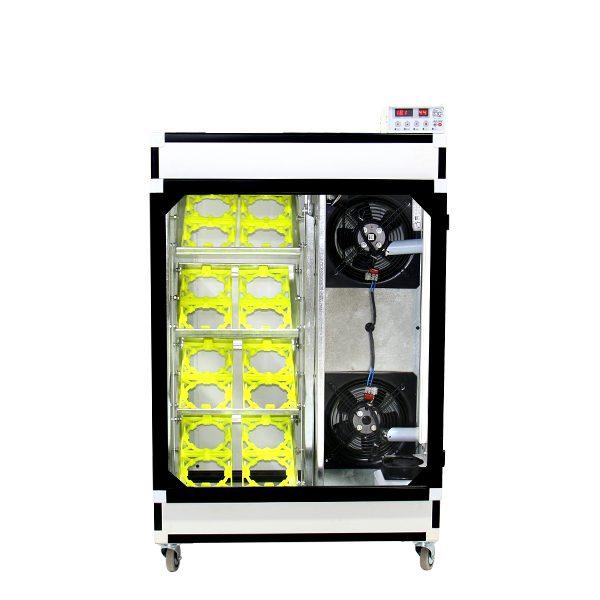 طراحی دستگاه جوجه کشی 16 تایی شترمرغ