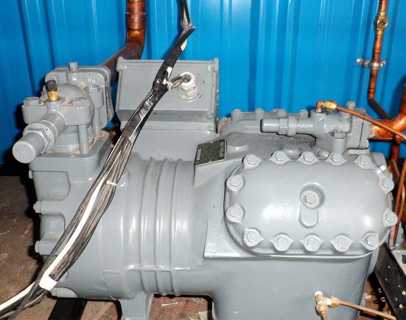 موتور کارخانه یخسازی