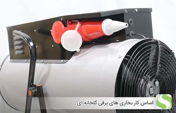 اساس کار بخاری های برقی گلخانه ای - اندیشه سبز