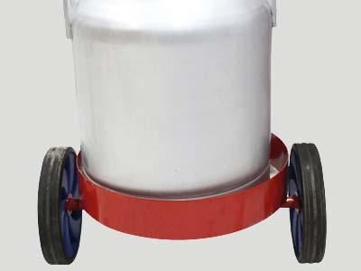 بیدون آلومینیومی شیر دوش تک واحد
