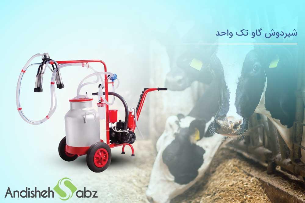 بررسی شیردوش گاو تک واحد اندیشه سبز