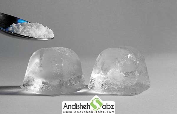 آب گرم سریعتر تبدیل به یخ