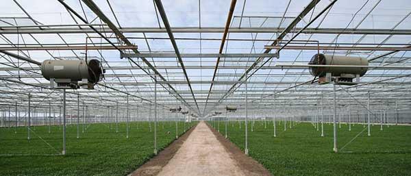 هیتر گلخانه ساخت اندیشه سبز