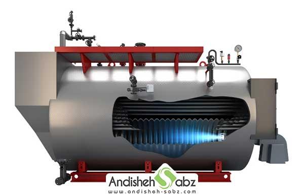 اجزای تشکیل دهنده دیگ بخار
