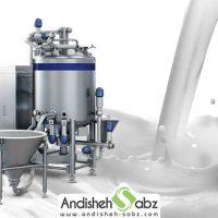 دستگاه پاتیل پخت شیر - اندیشه سبز