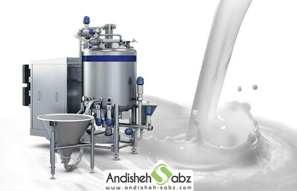 دستگاه پاتیل پخت شیر