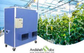 روش های مؤثر گرمایش گلخانه