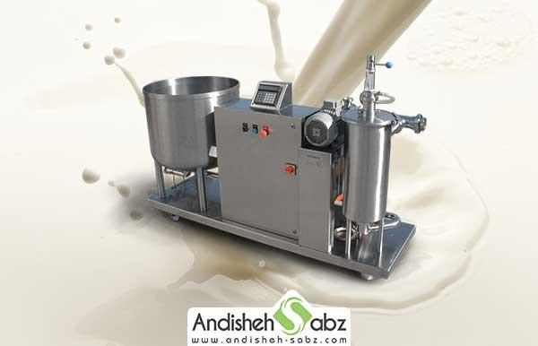 طرز کارکرد دستگاه پخت شیر