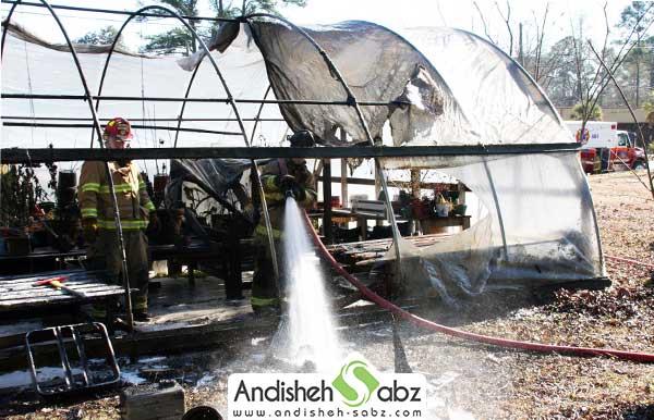 خطرات دستگاه های گرمایشی در گلخانه