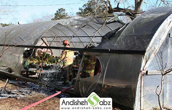 خطر آتش سوزی و انفجار محفظه آتش