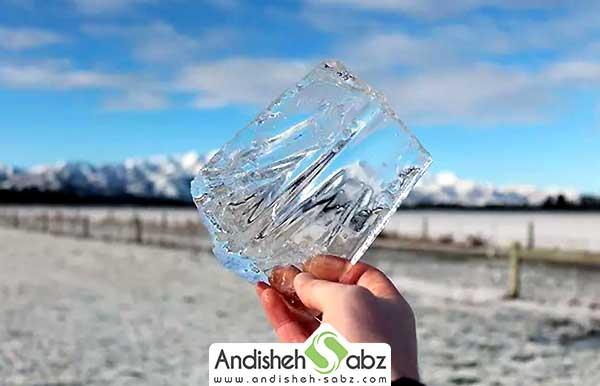 چطور یخ شفاف درست کنیم ؟