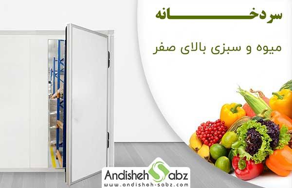 اصول انبار کردن میوه و سبزی در سردخانه - فروشگاه اینترنتی اندیشه سبز