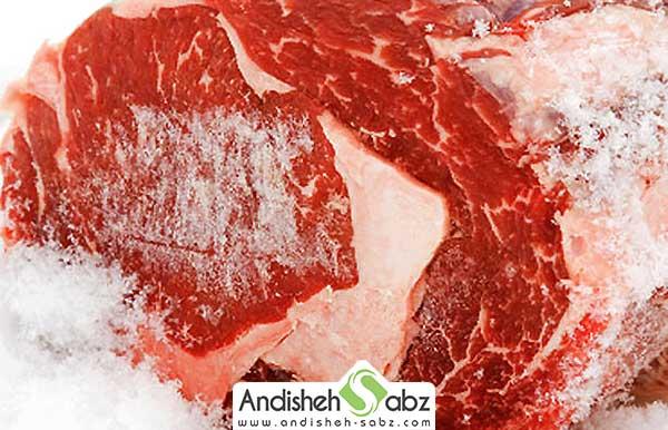 فریز کردن گوشت در سردخانه زیر صفر - فروشگاه اینترنتی اندیشه سبز
