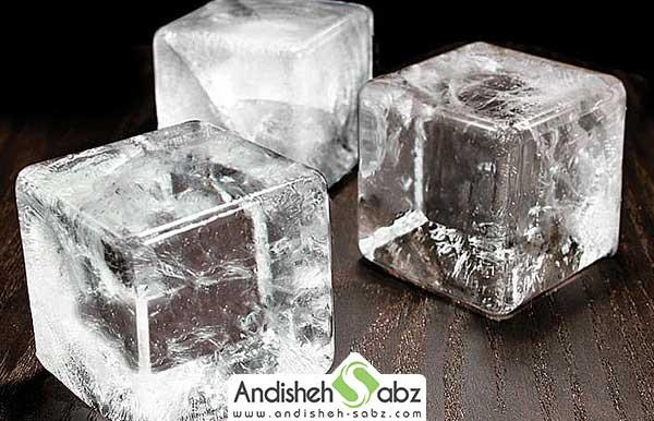 یخ حبه ای و موارد استفاده از آن