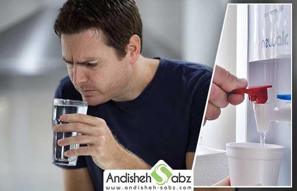نحوه تمیز کردن و رفع بوی بد آبسردکن