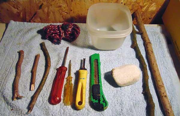ساخت آبخوریبا سنگ - اندیشه سبز
