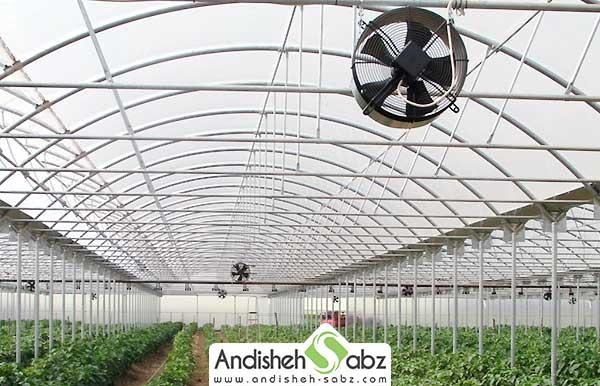 آشنایی با نحوه طراحی سیستم تهویه گلخانه