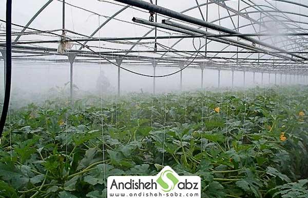 روش های تولید رطوبت در گلخانه