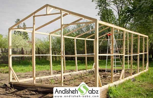 طرح و سازه گلخانه ها و نحوه ساخت آن