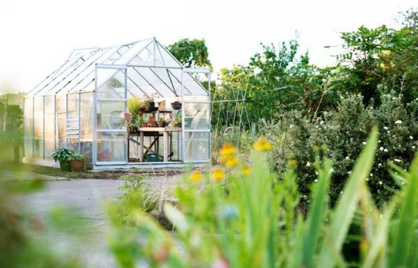 ساخت گلخانه در مکان نورگیر