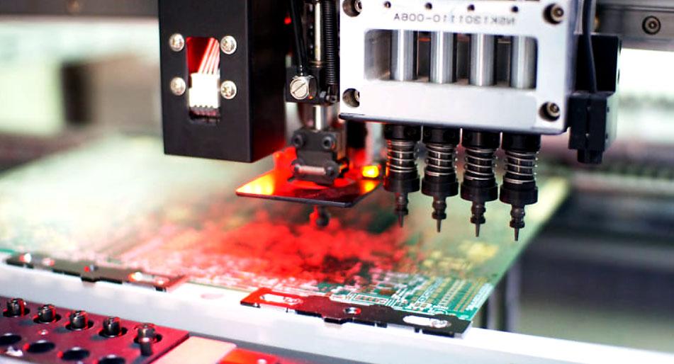 مونتاژ SMD و یک دستگاه ضدنویز - اندیشه سبز