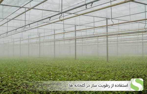 استفاده از رطوبت ساز در گلخانه ها - اندیشه سبز