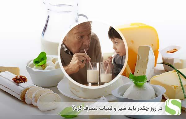 در روز چقدر باید شیر و لبنیات مصرف کرد - اندیشه سبز