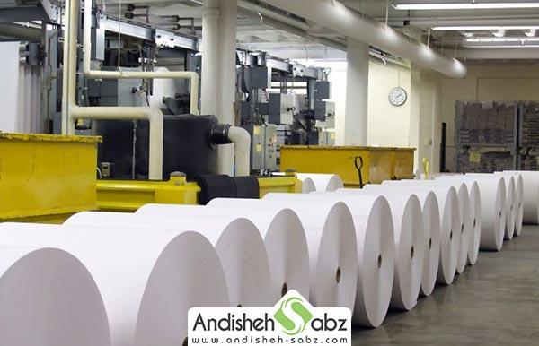 رطوبت ساز کارخانه کاغذسازی - اندیشه سبز