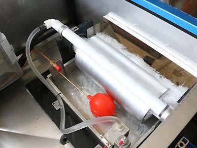 ماشین تولید یخ پولکی تمام اتوماتیک - اندیشه سبز