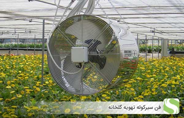 فن سیرکوله تهویه گلخانه - اندیشه سبز