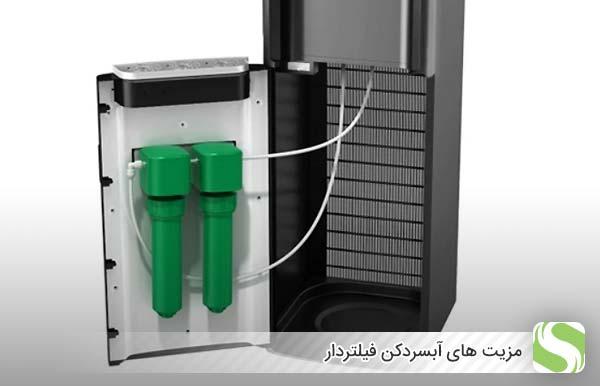 مزیت های آبسردکن فیلتردار - اندیشه سبز