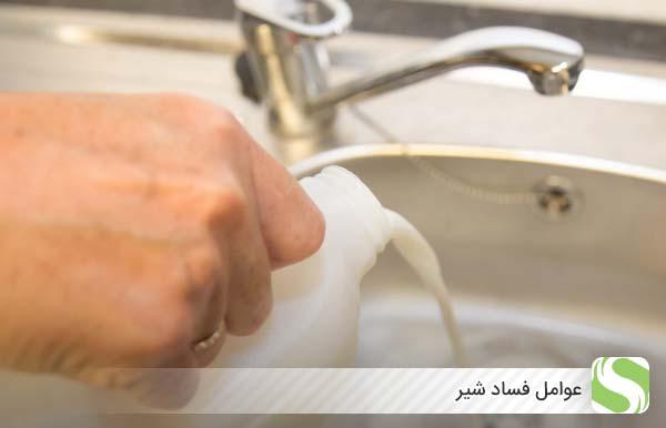 عوامل فساد شیر - اندیشه سبز