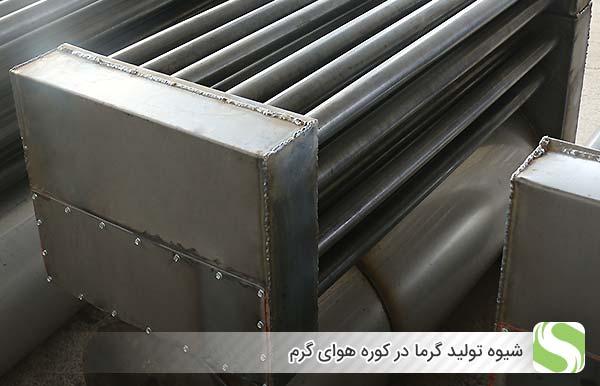 شیوه تولید گرما در کوره هوای گرم- اندیشه سبز